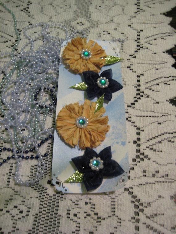 ORGANZA & COTTON FLOWERS