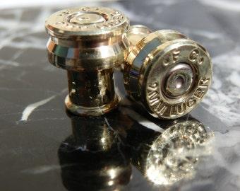 9mm Faced Ear Plugs 2ga