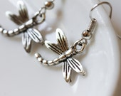 Dragonfly Earrings--Free Shipping