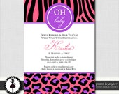 Interracial baby shower invitations Mature