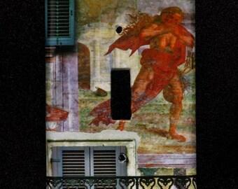 Single Switchplate Cover - Verona Fresco