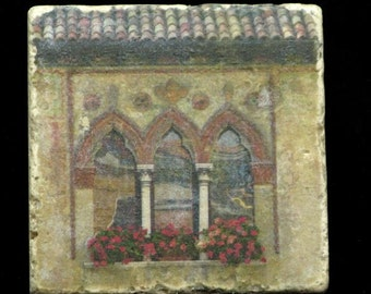 Coaster/Trivet - Window in Treviso Italy