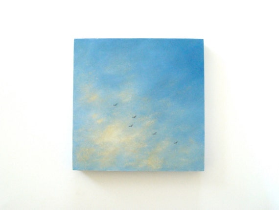 Cloud Oil Painting