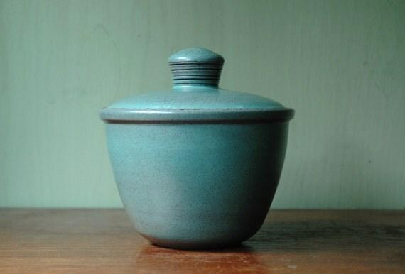 Heath Ceramic Lidded Pot - Mid Century Modern Edith Heath Studio Pottery