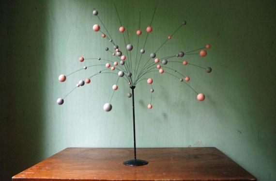 Laurids Lonborg Kinetic Sculpture - Mid Century Atomic Ball Tree Sculpture