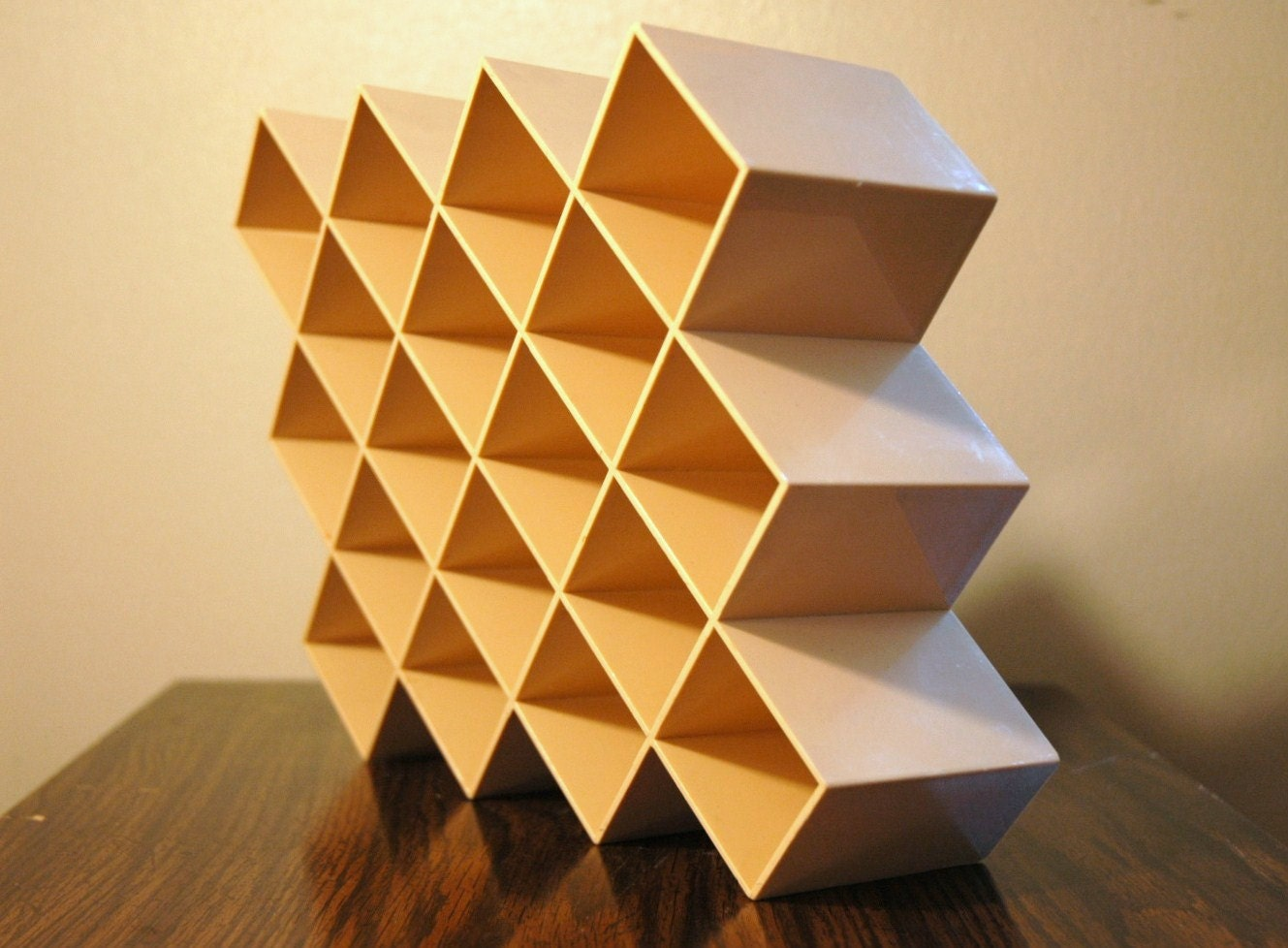 copco honeycomb spice rack mid century modern spice rack - 🔎zoom
