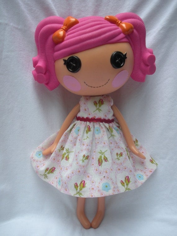 SALE Lalaloopsy dress- Pretty Flowers SALE