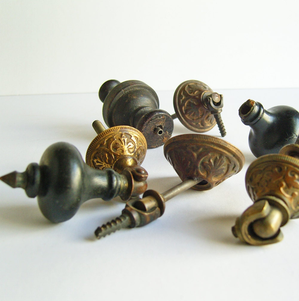 antique brass and wood drawer pulls upcycle repair. Black Bedroom Furniture Sets. Home Design Ideas