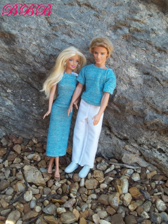 Barbie & Ken Clothes - His and Hers Matching Outfit
