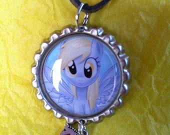 My Little Pony Friendship is Magic Derpy Bottle Cap Necklace