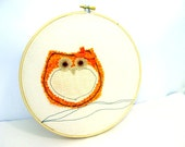 Owl, Fall Wall Hanging, Home Decor, Decoration, Autumn