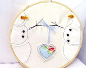 Cold Hands, Warm Heart   A Snowman's Perspective   Folk Art, Home Decor,Holiday