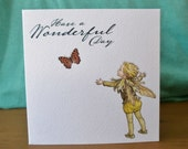 Fairy Faerie Wonderful Day Note Card
