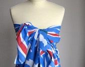 Mary Quant Vintage Pareo. Dress, Skirt, Sarong.