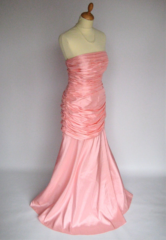 Beautiful Baby Pink Vintage Ball Gown