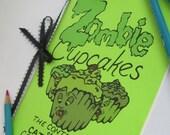 Zombie Cupcakes Handmade Coloring Book