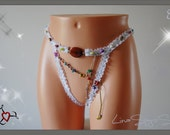 Sexy Jeweled G String, Size S to M, Worldwide Shipping