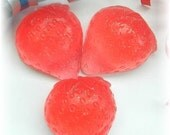 10 Mini Strawberry Soaps