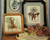 Vintage Cross Stitch Pattern Booklet - Life is a Song - Stoney Creek Collection - Book 60
