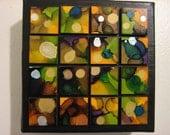 FREE Shipping: Black Ink'd Square Art 5x5