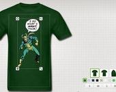 "Mens ""I Do What I Want, Thor"" custom shirt"