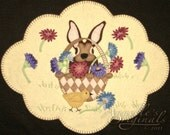 Mixed Blessings Penny Rug / Table Topper Pattern With Wool Kit