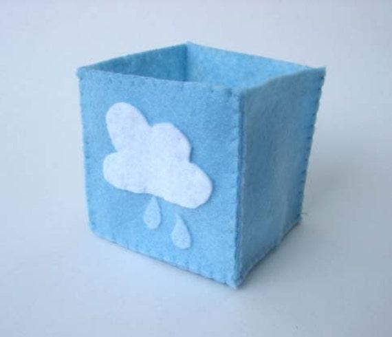 Cloud Light Blue Folding Box