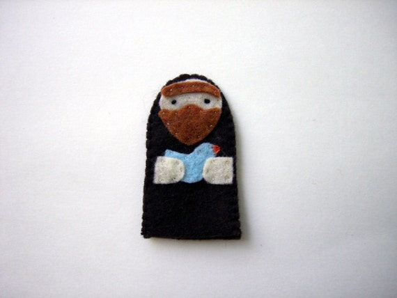St. Francis Finger Puppet