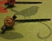 Rose bobby pins