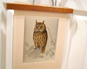 Owl Print halloween october shimmer silver wildlife