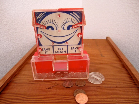 Peg o Bank Smiling face coin sorter