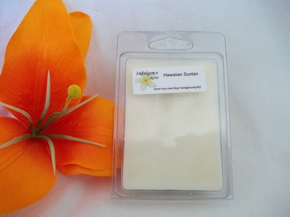 Hawaiian Suntan clamshell wax melts