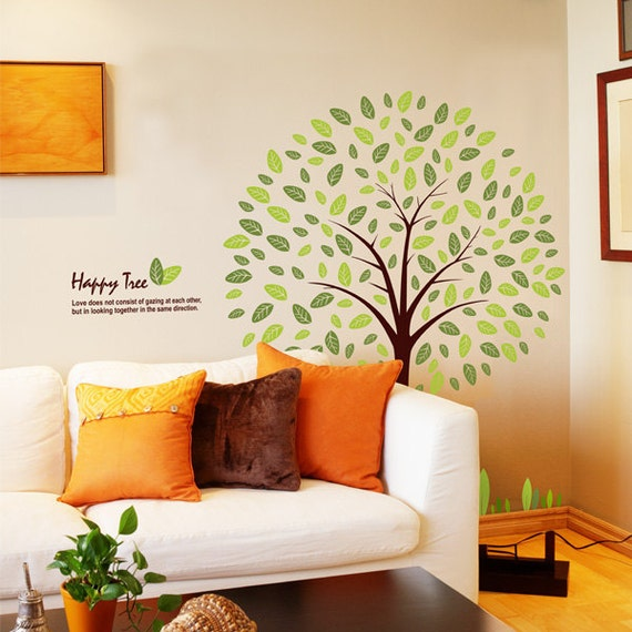 179 Wall Graphics - HAPPY TREE for Chelsea