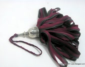 Silk and Pewter Tassel for Interior Decoration