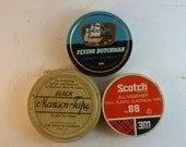 trio of tins