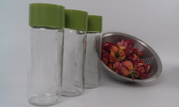 Vintage Brasilian Glass Storage Containers for Your Goodies