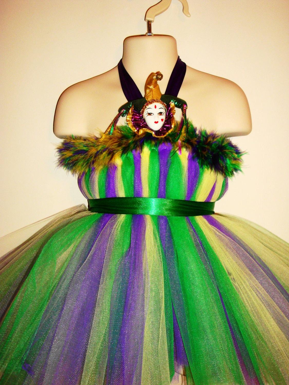 Kennedyb Private Listing Mardi Gras Costume Tutu Dress With