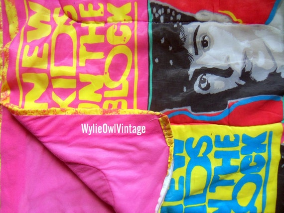 Vintage New Kids On The Block Sleeping Bag 1990