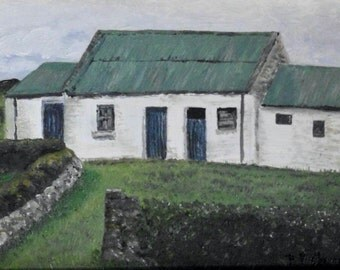 Irish Cottage Print