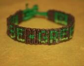Be Green (friendship bracelet)