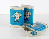 Asian Games Vintage Metal Container