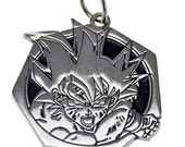 heavy goku sterling silver dragonball z pendant charm Real Sterling silver 925 pendant Charm jewelry