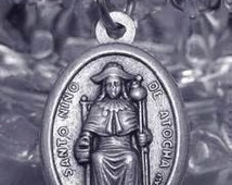 our lady of guadalupe santo nino de atocha silver charm Real Sterling silver 925 pendant Charm jewelry