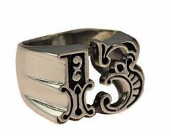 Heavy Lucky Number 13 Thirteen Genuine authentic sterling silver 925 Any size ring Pick Your Ring Size We Have Sizes 3 to 14