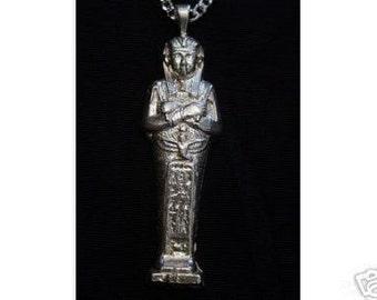 new king tut egyptian pendant charm silver tomb egypt Real Sterling silver 925 pendant Charm jewelry