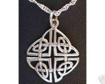 0499 good celtic infinity knot charm sterling silver Real Sterling silver 925 pendant Charm jewelry