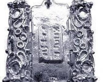 jewish pendant charm torah star of david silver 925 Real Sterling silver 925 pendant Charm jewelry