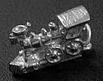 chu chu train pendant sterling silver 925 charm jewelry Real Sterling silver 925 pendant Charm jewelry