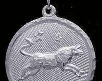 taurus pendant sterling silver 925 zodiac charm star Real Sterling silver 925 pendant Charm jewelry