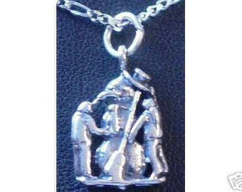 2099 christmas frosty the snowman pendant silver Real Sterling silver 925 pendant Charm jewelry